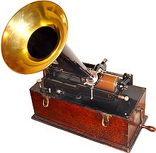Example of phonograph used by Vaughan Williams and others in early recordings of folk songs